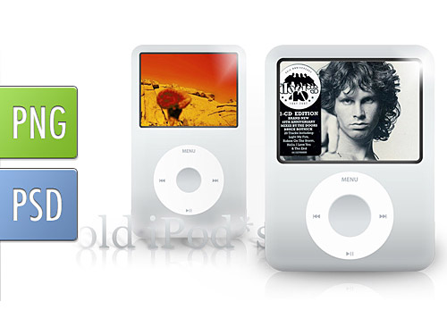 Old Generation Classic iPods PSD Sound, Psd Templates, PSD Sources, psd resources, PSD images, psd free download, psd free, PSD file, psd download, PSD, PNG Icon, Objects, Music Player, Music, Layered PSDs, iPod, Icons, Icon PSD, Icon, Free PSD, Free Icons, Free Icon, Electronics, download psd, download free psd, Apple, .png,