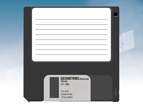 Old Style Diskette PSD PSD, Old Style, Objects, Layered PSDs, Icons, Data,