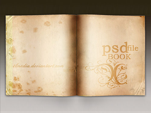 Book PSD PSD, Paper, Objects, Layered PSDs, Book,
