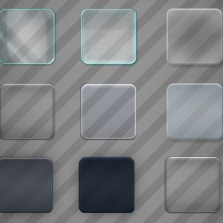 Glass Effect In PSD
