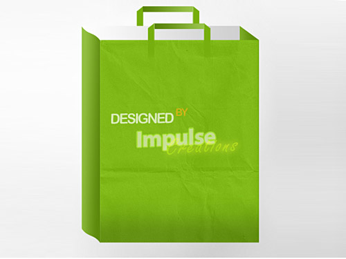 Paper Bag PSD PSD, Paper, Objects, Layered PSDs, Icons, Bag,