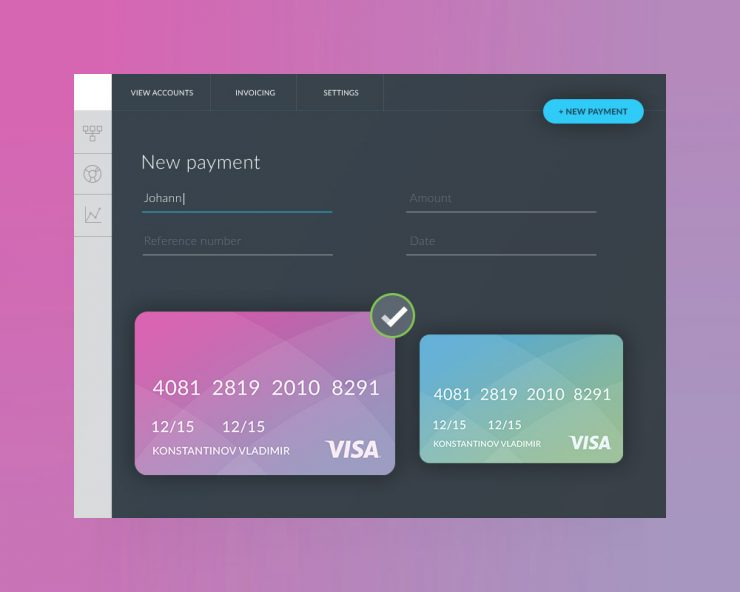 Payment Form Ui Template Free Psd Download  Download Psd