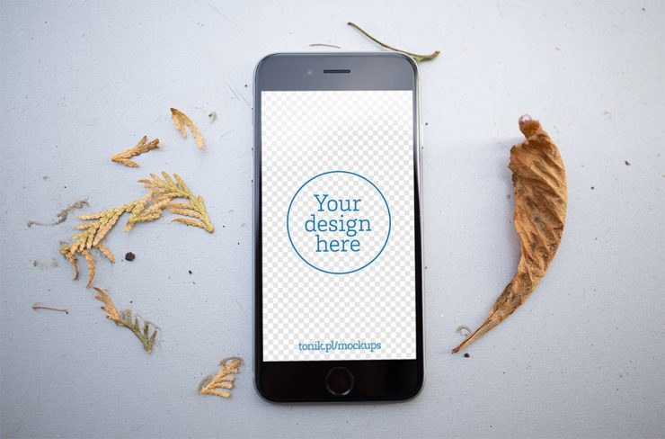 Photorealistic iPhone 6 Mockups PSD Freebie