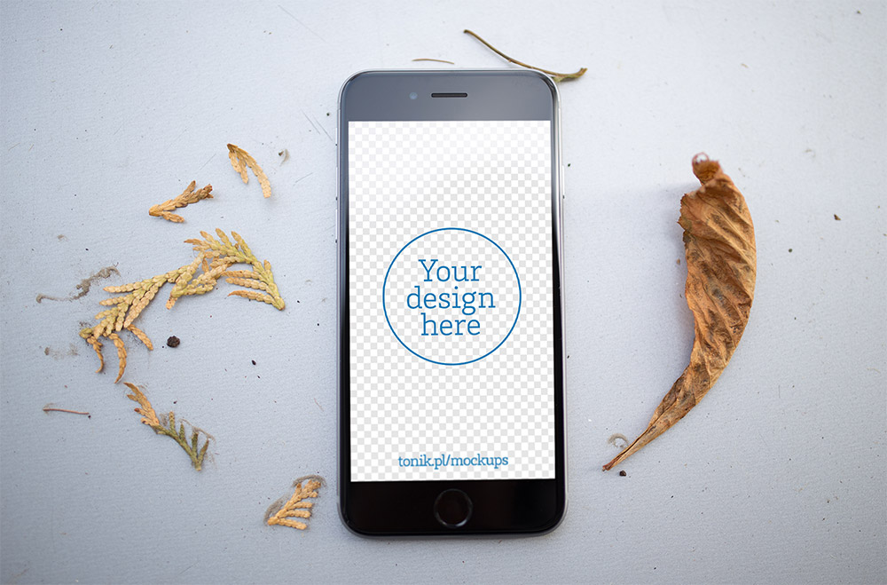 Photorealistic iPhone 6 Mockups PSD Freebie