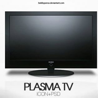 Plasma TV PSD file