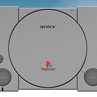 PlayStation Console PSD file