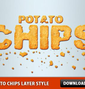 Potato Chips Layer Style Psd Templates PSD Sources psd resources PSD images psd free download psd free PSD file psd download PSD Photoshop Styles Layered PSDs Layer Style Free PSD Food download psd download free psd Chips .ASL