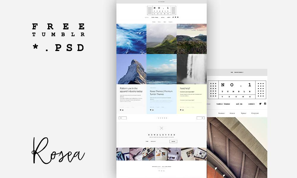 Premium tumblr theme free psd download download psd premium tumblr theme free psd www white website template website layout website webpage web template web pronofoot35fo Gallery