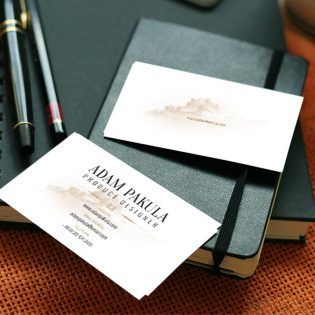 Professional Business Card Mockup PSD Freebie