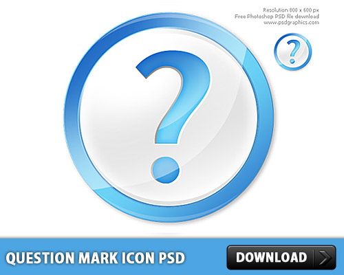 Question Mark icon PSD Sign, Question Mark, Question, Query, Psd Templates, PSD Sources, psd resources, PSD images, psd free download, psd free, PSD file, psd download, PSD, Orb, Mark, Layered PSDs, Icon PSD, Icon, Glossy, Free PSD, Free Icons, Free Icon, FAQ, download psd, download free psd, Circle,