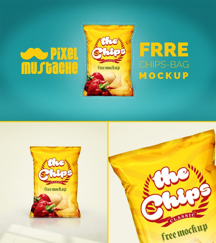 Realistic Chips Bag Mockup Free PSD yellow unique Stylish snacks Realistic Quality Psd Templates PSD Sources psd resources PSD images psd free download psd free PSD file psd download PSD packet pack original new Modern Mockup mock-up Mock Fresh Freebie Free PSD free mockup Free download psd download free psd Download detailed Design Creative Clean Chips Bag