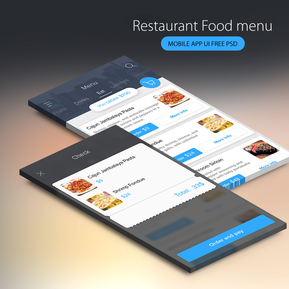 Restaurant food menu mobile app ui free psd download download psd restaurant food menu mobile app ui free psd web resources web elements web design elements web magicingreecefo Image collections