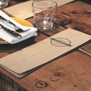 Restaurant Menu Mockup Free PSD