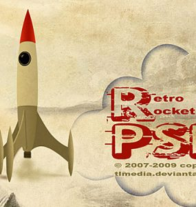 Retro rocket PSD File Rocket Retro Psd Templates PSD Sources psd resources PSD images psd free download psd free PSD file psd download PSD Paper Old Style Objects Layered PSDs Icon PSD Icon Grunge Free PSD Free Icons Free Icon download psd download free psd Dirty