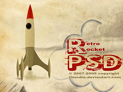 Retro rocket PSD File Rocket, Retro, Psd Templates, PSD Sources, psd resources, PSD images, psd free download, psd free, PSD file, psd download, PSD, Paper, Old Style, Objects, Layered PSDs, Icon PSD, Icon, Grunge, Free PSD, Free Icons, Free Icon, download psd, download free psd, Dirty,