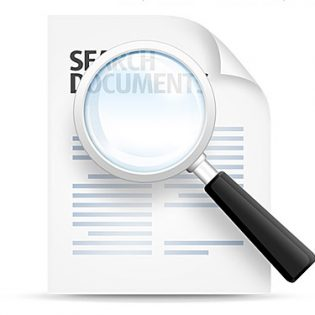 Search Documents Icon PSD