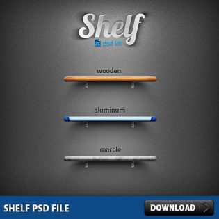 Shelf PSD File