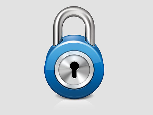 Shiny Lock Icon PSD Shiny, Security, PSD, Objects, Lock, Layered PSDs, Icons, 3D,