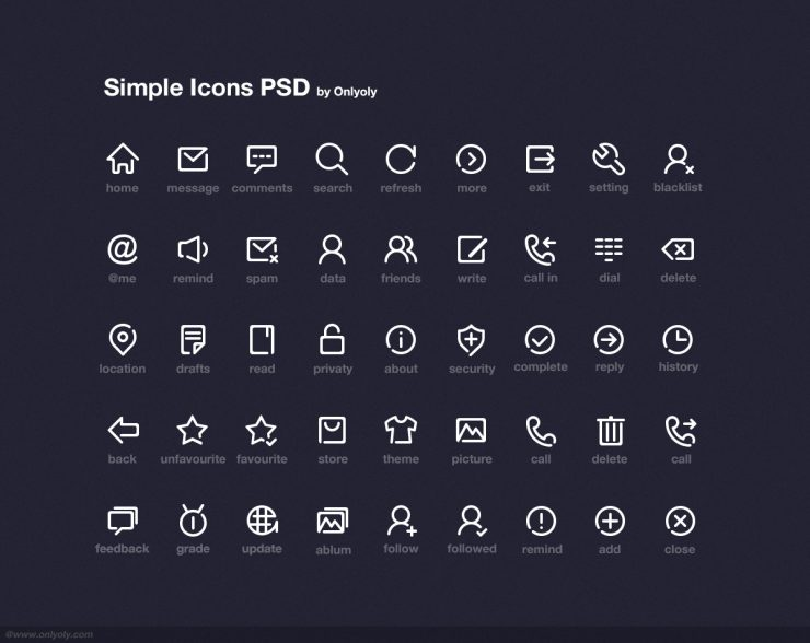 Simple Icons Free PSD Pack White Web Resources Web Icons Web Elements Web unique UI elements UI Stylish Simple set Resources rectangular icons Quality PSD Set PSD Icons pack outline icons original new Modern Interface Icons Icon PSD Icon glyph Fresh Free Icons Free Icon free download Free Elements Download detailed Design Creative Clean