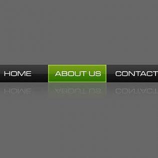 Simple Web2.0 Navigation Bar