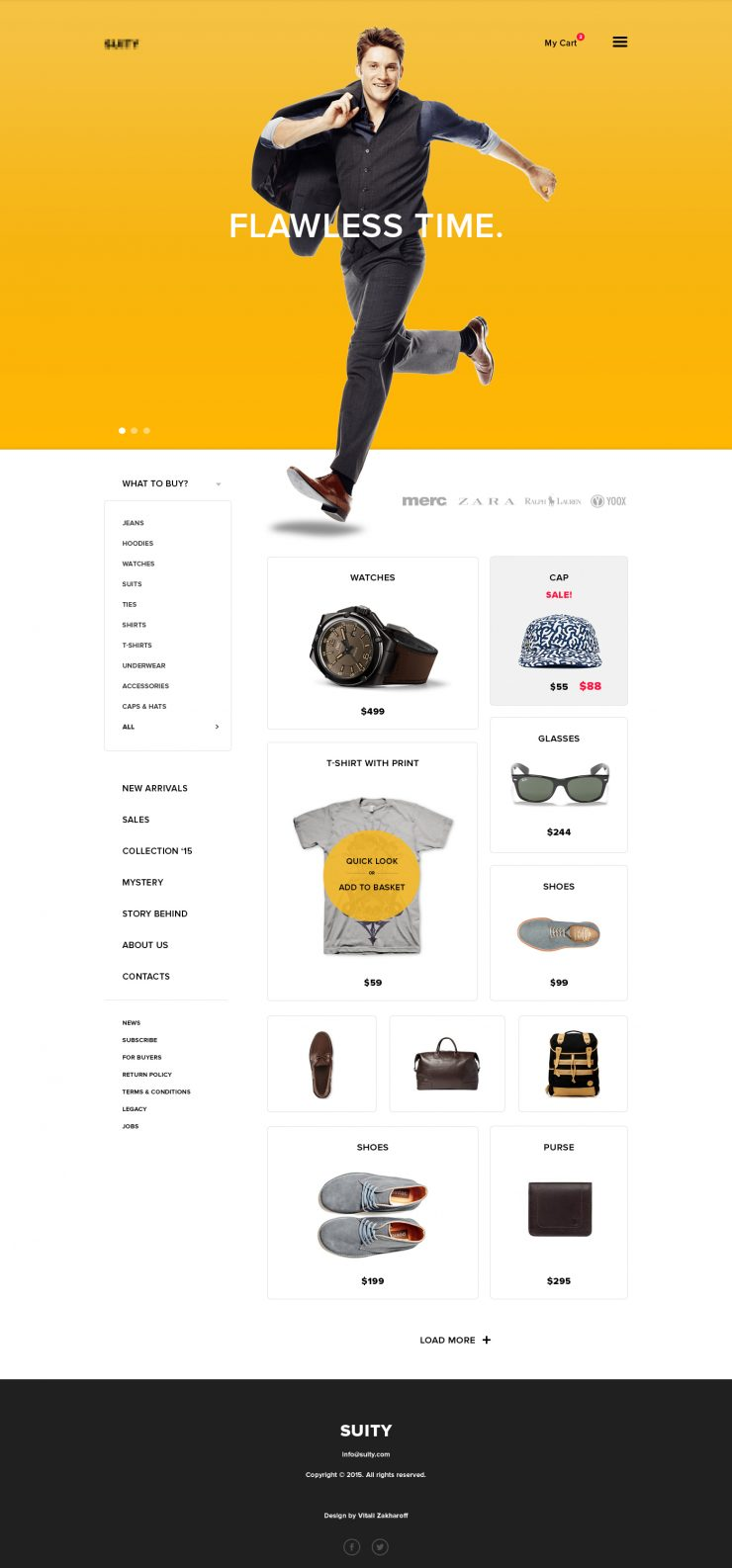 Simple eCommerce Website Template PSD yellow www Website Template Website Layout Website webpage webdesign Web Template Web Resources web page Web Layout Web Interface Web Design Web User Interface UI Template Simple Shopping Shop Resources Psd Templates PSD minimalistic Freebie Free PSD Free Flat Fashion Elements eCommerce Download cloth Clean