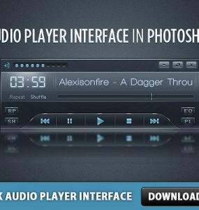 Sleek Audio Player Interface Sleek Skin Psd Templates PSD Sources psd resources PSD images psd free download psd free PSD file psd download PSD Player Skin Player Music Mp3 Player MP3 Layered PSDs Interface GUI Free PSD download psd download free psd Audio Player