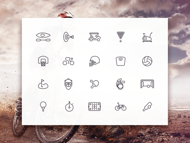Sleek Sports Icons Set PSD Web Resources, Web Elements, Vector, unique, SVG, Stylish, sports icon, Sports, snooker, Sleek, sketch, Resources, Quality, PSD Icons, PSD file, PSD, pack, original, new, Modern, line icons, line, Layered PSDs, Layered PSD, Icons, Icon PSD, Icon, helmet, handball, Fresh, Freebies, Free Resources, Free PSD, Free Icons, Free Icon, free download, Free, football, Elements, Download, detailed, Design, cycling, Creative, Clean, biking, ball, AI, .png,