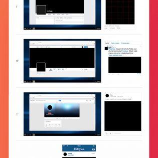Social Media Mockup Kit Free PSD
