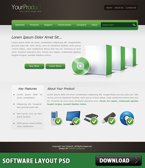 Software Layout PSD