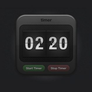 Sports Timer Icon - Free PSD file