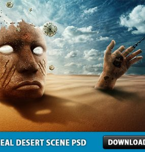 Surreal Desert Scene PSD Wallpaper Surreal Sky Psd Templates PSD Sources psd resources PSD images psd free download psd free PSD file psd download PSD Photo Manipulation Nature Mask Layered PSDs Human Graphics Free PSD download psd download free psd Desert Birds