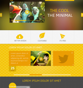THEYALOW Responsive Web Design Template PSD yellow www Website Template Website Layout Website webpage Web Template Web Resources web page Web Layout Web Interface Web Elements Web Design Web User Interface UI Template responsive design responsive Resources Psd Templates mobile website Minimal Elements Clean
