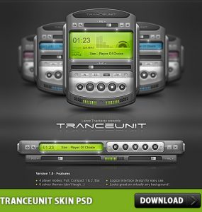 Tranceunit Skin Free PSD Xion, Sound, Skin, Psd Templates, PSD Sources, psd resources, PSD images, psd free download, psd free, PSD file, psd download, PSD, Player Skin, Player, Objects, Music Player, Music, MP3, Layered PSDs, Icon PSD, Icon, Free PSD, Free Icons, Free Icon, download psd, download free psd, Audio Mixer, Audio,