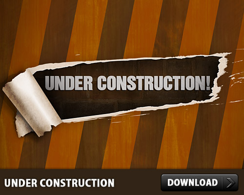 Free Under Construction PSD www, Website, Web Template, Web Resources, Web Resource, Web Design Resources, Web Design, Wall, Udner Construction, Template, Psd Templates, PSD Sources, psd resources, PSD images, psd free download, psd free, PSD file, psd download, PSD, Peel Effect, Paper Peel, Paper, Layered PSDs, Landing Page, Graphic, Free Template, Free PSD, Error Page, Electronics, download psd, download free psd, 404,