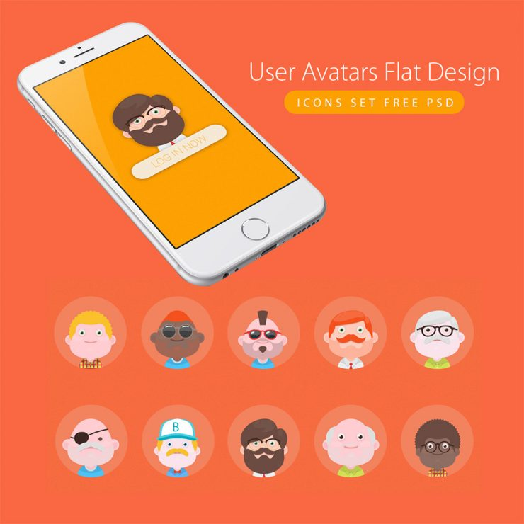 User Avatars Flat Design Icons Set Vector PSD Web Resources, Web Elements, vector psd, Vector, user icon, User, unique, Stylish, Simple, Resources, Quality, Psd Templates, PSD Sources, PSD Set, psd resources, psd kit, PSD images, PSD Icons, psd free download, psd free, PSD file, psd download, PSD, Photoshop, pack, original, old man, new, Modern, men, material design, material, Layered PSDs, Layered PSD, Icons, Icon PSD, Icon, Graphics, Fresh, Freebies, Freebie, Free Resources, Free PSD, Free Icons, Free Icon, free download, Free, flat style, Flat, Elements, download psd, download free psd, Download, detailed, Design, Creative, Clean, avatar, Adobe Photoshop, .png,