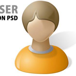 User Icon PSD