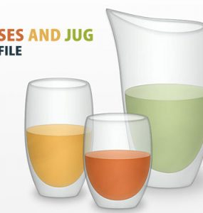 Vector Glasses And Jug PSD File Water Vector Psd Templates PSD Sources psd resources PSD images psd free download psd free PSD file psd download Objects Layered PSDs Jug Icons Glossy Glassy Glass Free PSD Drinking Glass download psd download free psd
