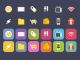 Vibrant iOS food Theme Shopping Icons Set PSD Web Resources Web Elements vibrant Shopping Resources PSD Icons mobile set iOS Icons Icon PSD Icon Free Icons Free Icon Free Food flat psd flat icons Flat Design Flat Elements eCommerce Drinks dairy Colorful beverages bakery