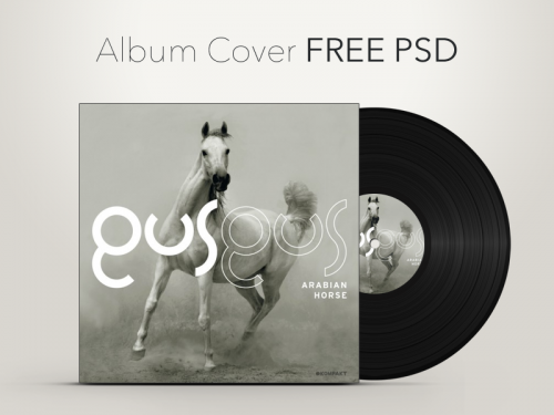 Download Free Vinyl Record Album Cover Graphic Psd At