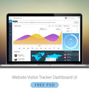 Website Visitor Tracker Dashboard UI Free PSD weekly, website visitors, website dashboard, Web Resources, Web Elements, Web Design Elements, Web, visitors, visitor, vibrent, UX, Users, User Interface, user info, user dashboard, User, unique, ui set, ui kit, UI elements, UI, Tracker, Stylish, stats, Simple, Resources, report, Quality, Psd Templates, PSD Sources, psd resources, PSD images, psd free download, psd free, PSD file, psd download, PSD, Professional, Photoshop, pack, original, new, monthly, Modern, Map, Layered PSDs, Layered PSD, Interface, information, infographics, Info, GUI Set, GUI kit, GUI, Graphics, Graphical User Interface, graph, google analytics, Fresh, Freebies, Freebie, Free Resources, Free PSD, free download, Free, Flat, Elements, download psd, download free psd, Download, detailed, Design Resources, Design Elements, Design, dashboard template, dashboard, daily stats, daily, Creative, country, Colorful, Clean, chart, backend, Application, analytics, Adobe Photoshop, administrator, admin,