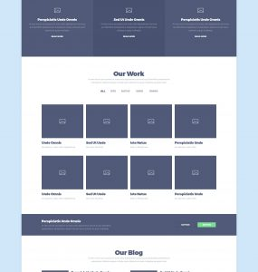 Website Wireframe UI Template Free PSD