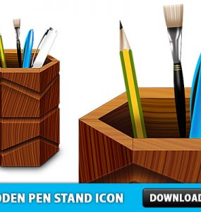 Free Wooden Pen Stand Icon PSD Wooden, Wood, Study, Stationary, School, Psd Templates, PSD Sources, psd resources, PSD images, psd free download, psd free, PSD file, psd download, PSD, Pencil, Pen Stand, Pen, Paint Brush, Objects, Layered PSDs, Icon PSD, Icon, Free PSD, Free Icons, Free Icon, Education, Drawing, download psd, download free psd, .png,