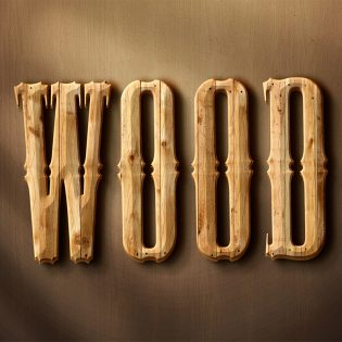 Wooden Text Effect Layer Style PSD