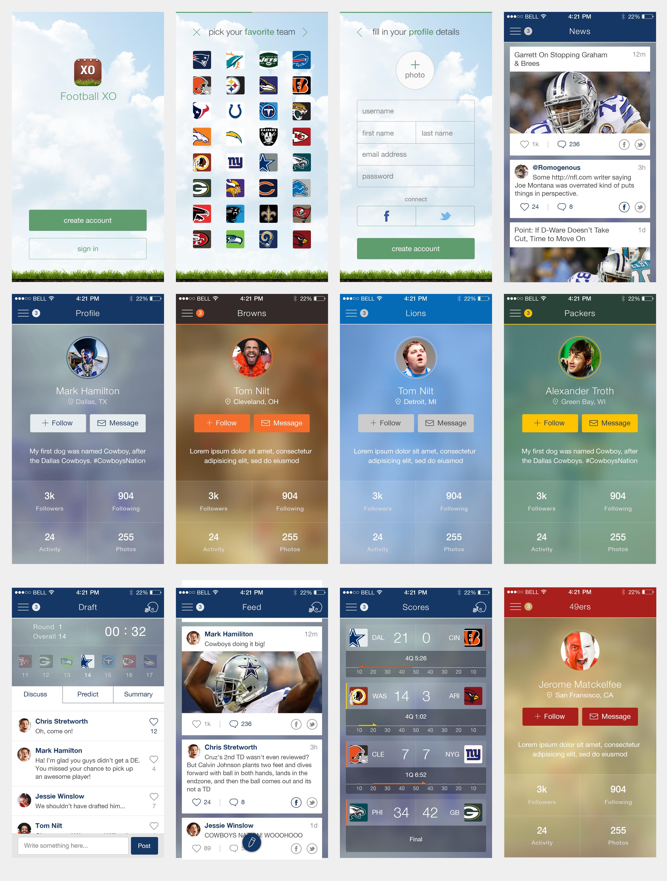 World Class Pro Football iPhone App