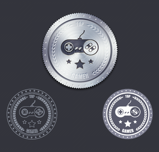 Metal Badge Free PSD