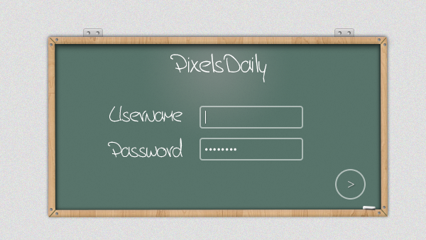 User Login Blackboard Free PSD file