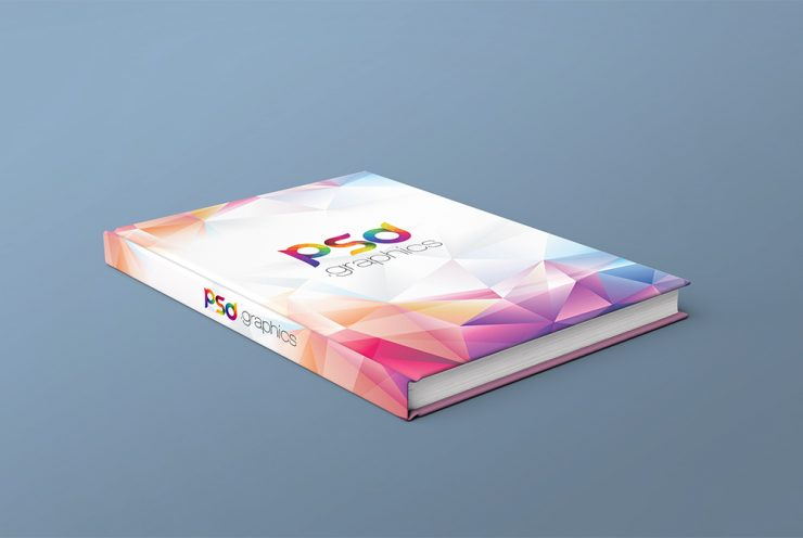 Book Cover Free PSD Mockup Template