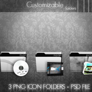 Customizable Folders Icons