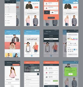 eCommerce Mobile App Screens Free PSD White Web Resources Web Elements Web User Interface unique ui set ui kit UI elements UI trend Stylish Style Store Shopping Shop screens Resources range Quality purchase psd kit PSD phone application Phone pack original order new Modern Mobile Application Mobile latest kart Interface GUI Set GUI kit GUI Graphical User Interface full app Fresh Free PSD Free Flat Fashion Elements ecommerce ui ecommerce app eCommerce e-store e-commerce dress detailed Design Resources Design Creative clothing Clean Cart Buy Bag PSD Application app ui App store app psd App Icons App GUI App