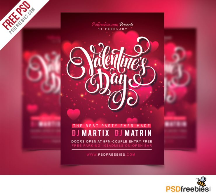 Free Valentines Party Flyer PSD Template Wedding, Vintage, Vector, valentines night party flyer, valentines flyer, valentines day party, Valentines Day, Valentines, Valentine, unique, Typography, Template, Symbol, sweet, Stylish, Sign, roses, Rose, romantic, romance, Ribbon, Retro, Resources, Red, Quality, Psd Templates, PSD Sources, psd resources, PSD images, psd free download, psd free, PSD file, psd download, PSD, Present, Premium, Poster, Pink, Photoshop, Party, pack, original, new, Modern, lover, love flyer, love day, Love, Light, Layered PSDs, Layered PSD, label, kiss, invitation, illustration, Holiday, hearts, Heart, Happy, greeting, Graphics, Gift, Fresh, freemium, Freebies, Freebie, Free Resources, Free PSD, free flyer psd, free download, Free, flyer psd, Flyer, feeling, february, Exclusive, Event, download psd, download free psd, Download, Disco, detailed, Design, Decoration, day, cute, Creative, Club, Clean, Circle, Celebration, Card, Brochure, Beautiful, Banner, Background, Art, Adobe Photoshop, Abstract,